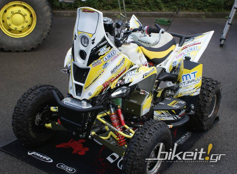"Παρουσίαση – Yamaha YFM Raptor 700 ""MT-Rally Design"""