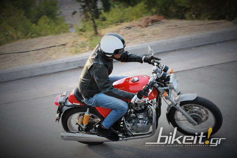 Test - Royal Enfield Continental GT 535