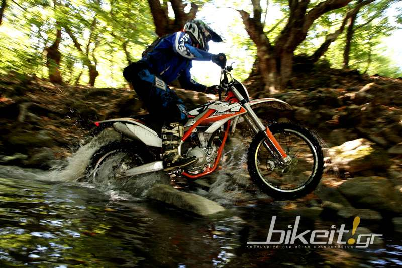 Test - KTM 350 Freeride 2013