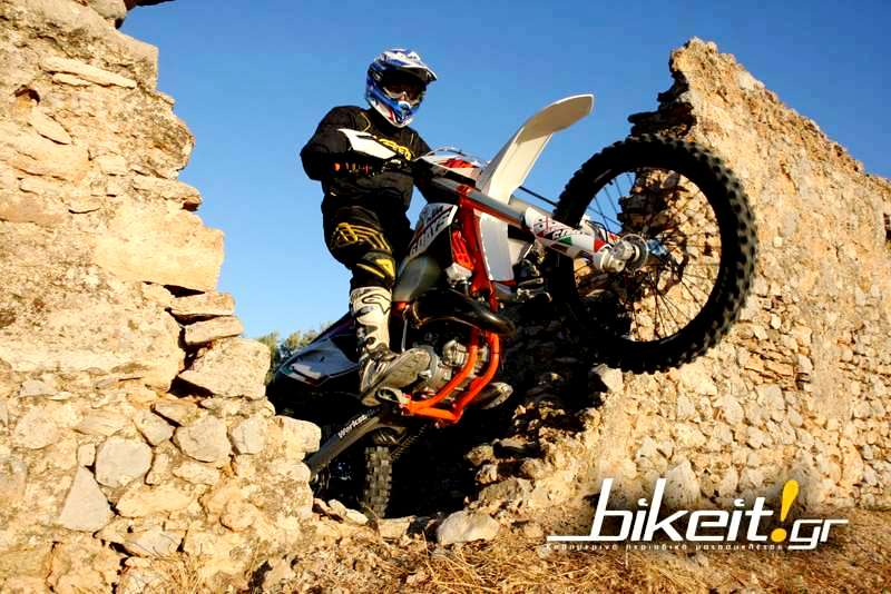 Πρώτο test - KTM 125 EXC Six Days Sardinia 2014