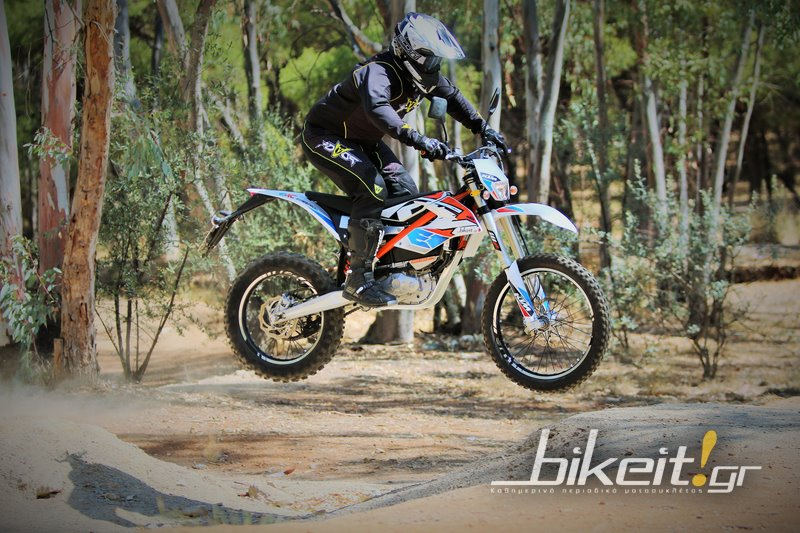 Test - KTM EXC Freeride-E 2016
