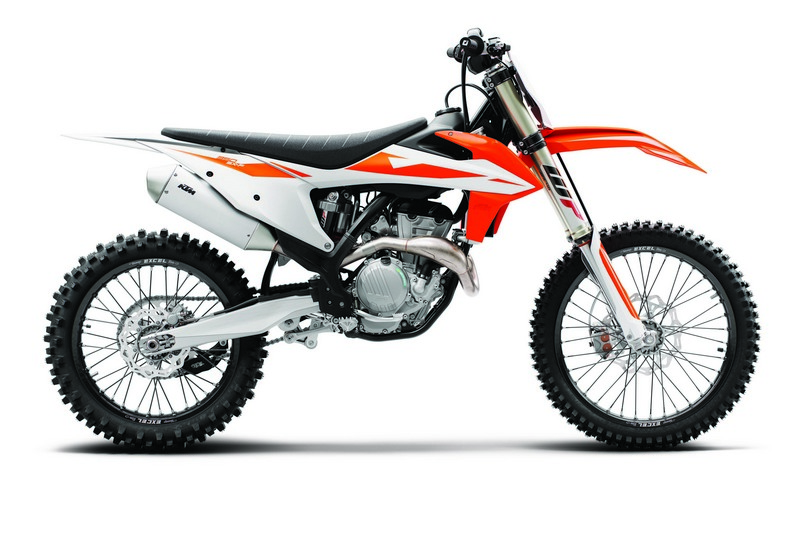 KTM 350 SX F MY2019 90 degree right