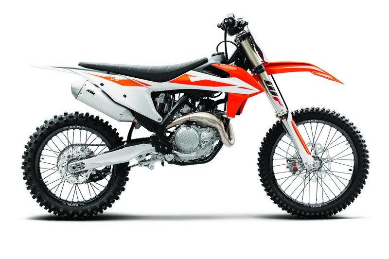 KTM 450 SX F MY2019 90 degree right