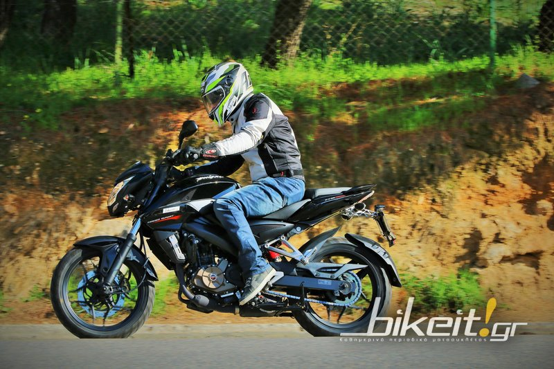 Test - Bajaj Pulsar NS 200