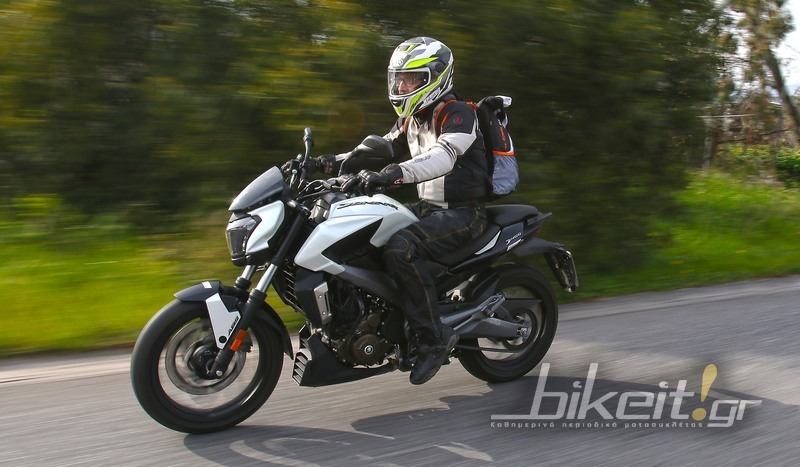 TEST - Bajaj Dominar 400