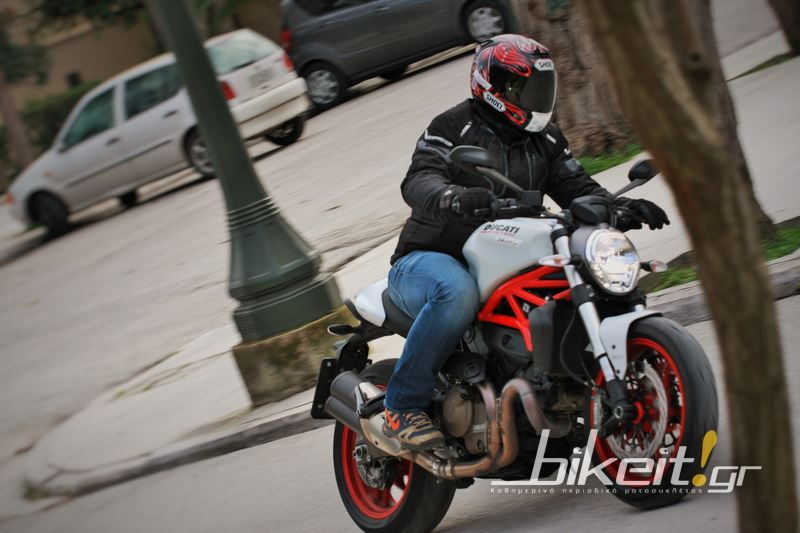 Test - Ducati Monster 821 - 2015