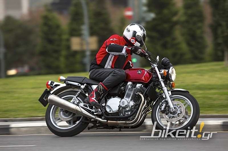 Πρώτο Test – Honda CB 1100 ABS 2013