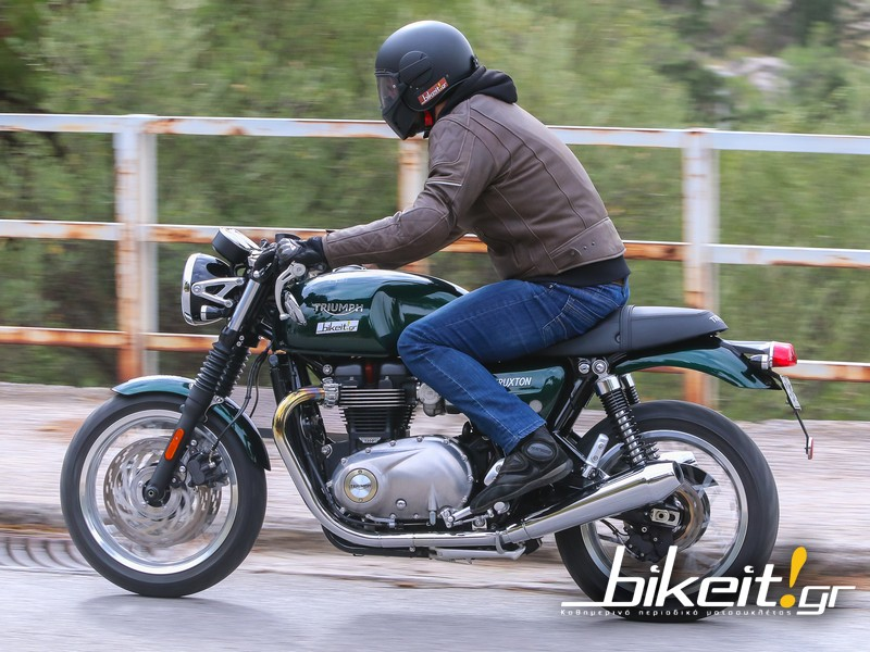TEST - Triumph Thruxton 2017