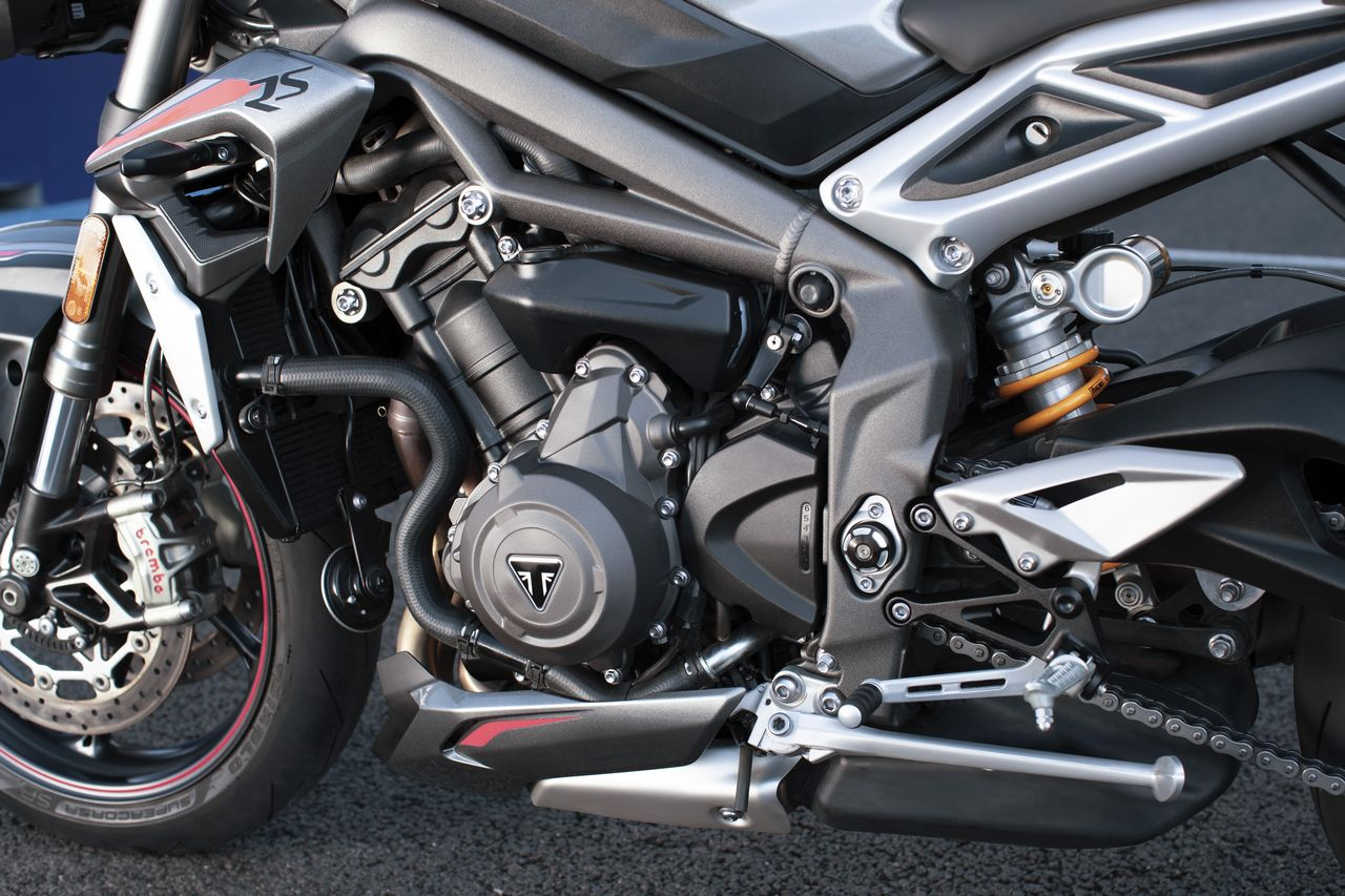 New Street Triple RS Detail 1