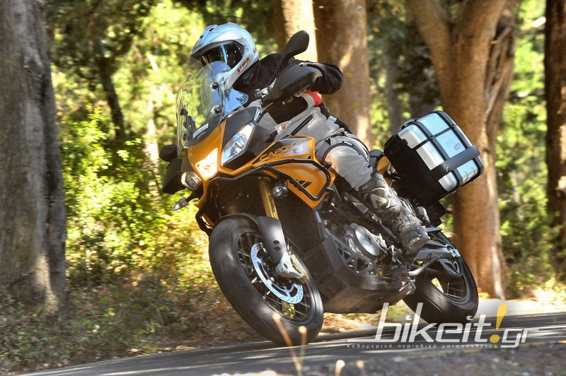 Test - Aprilia Caponord 1200 Rally 2015