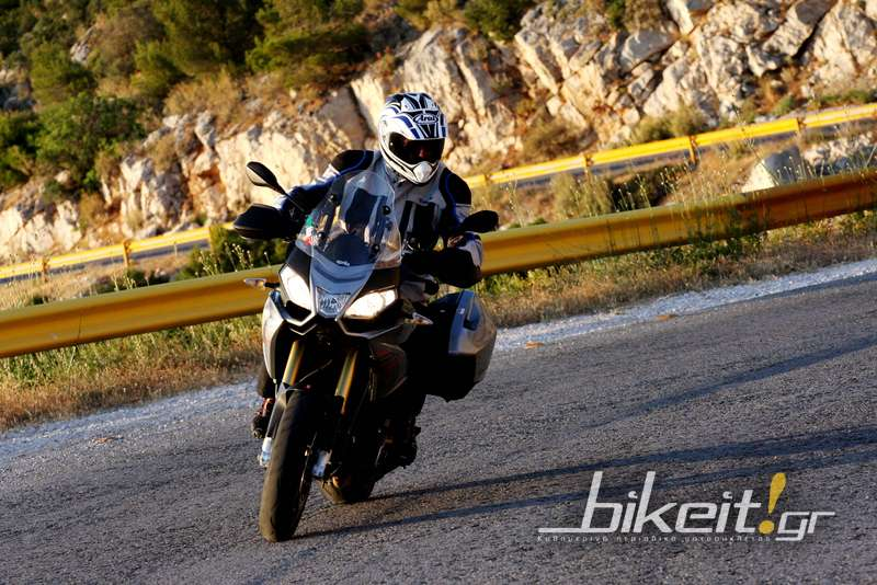 Πρώτο Test - Aprilia Caponord 1200 ABS Travel Pack 2013
