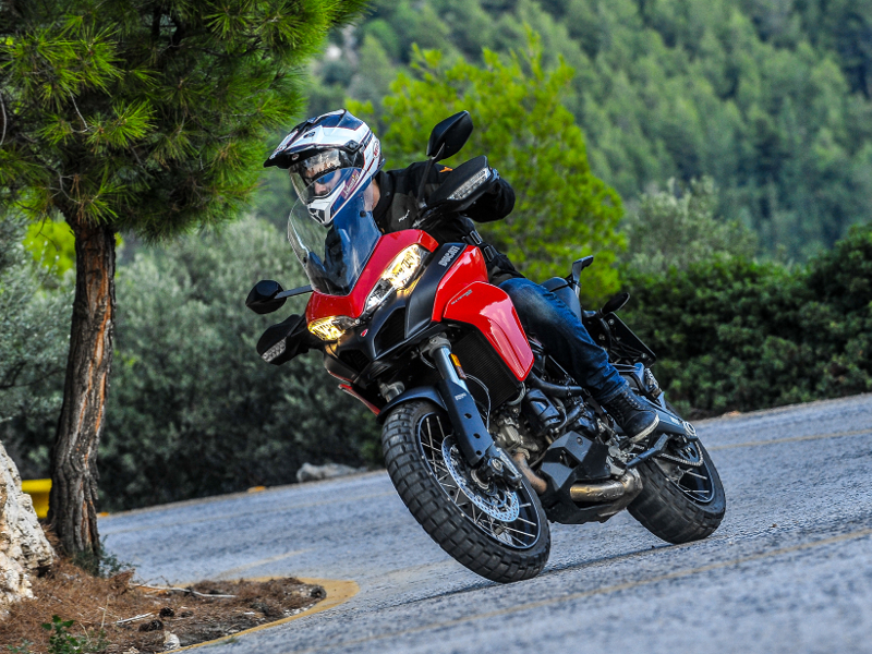 "TEST – Ducati Multistrada 950 ""Spoked Wheels"" 2018"