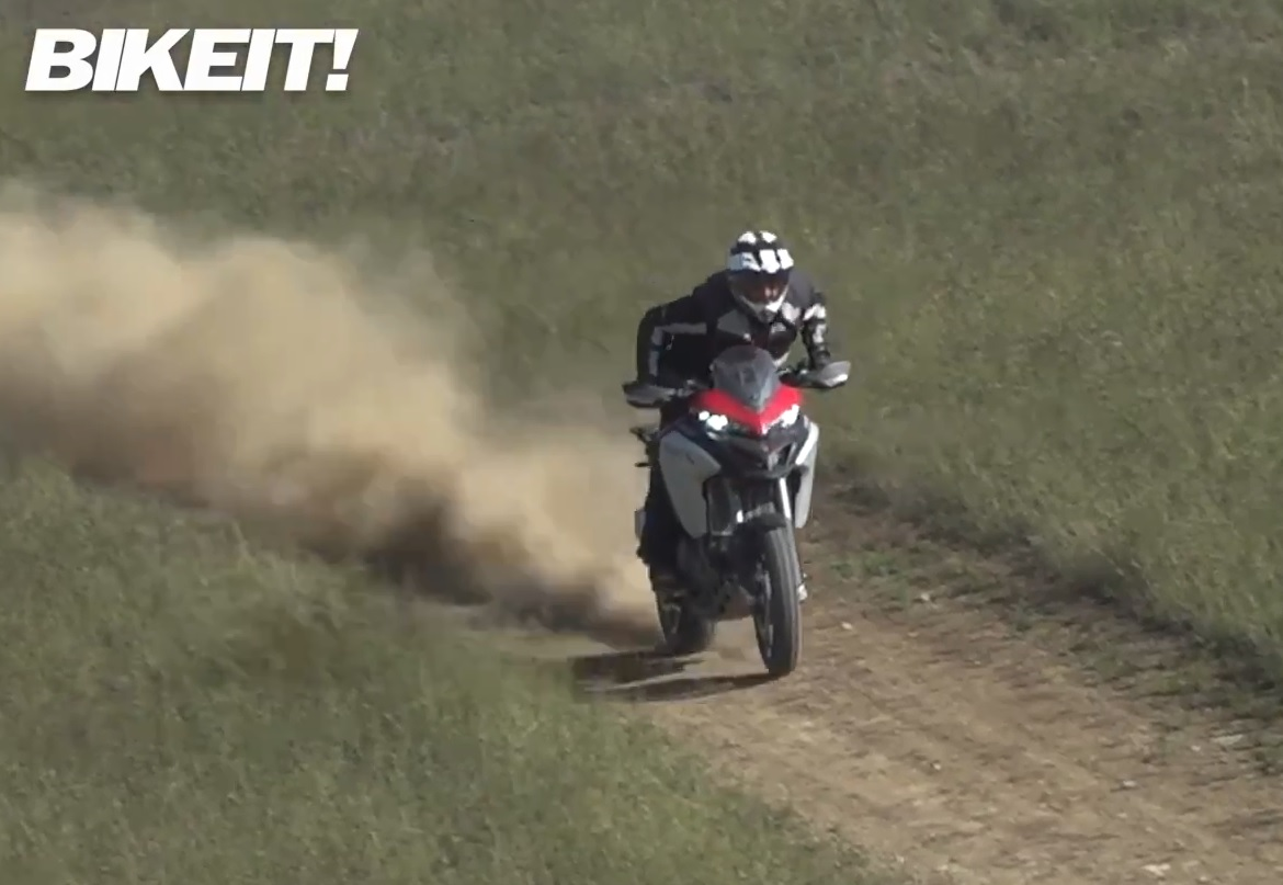 Test - Ducati Multistrada 1260 Enduro 2019 - Video