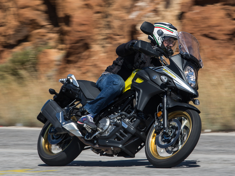Mini TEST - Suzuki V-Strom 650 & 1000 XT 2017, 1η επαφή