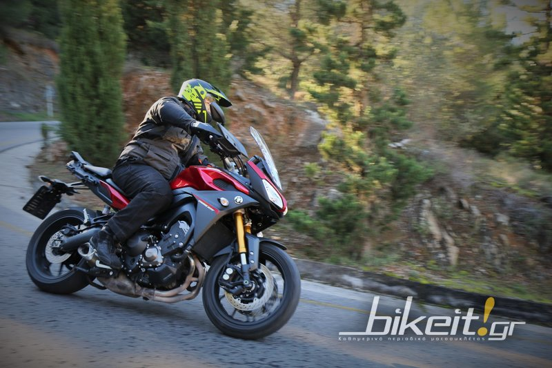 Test- Yamaha MT-09 Tracer 2016