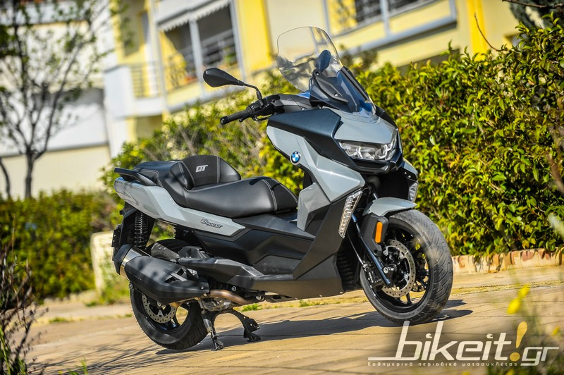 bmw c400gt test statika 3