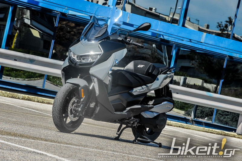 bmw c400gt test statika 6