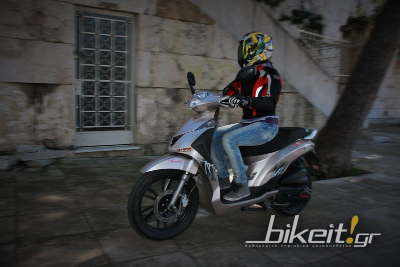 Test - Daytona Trevis 125