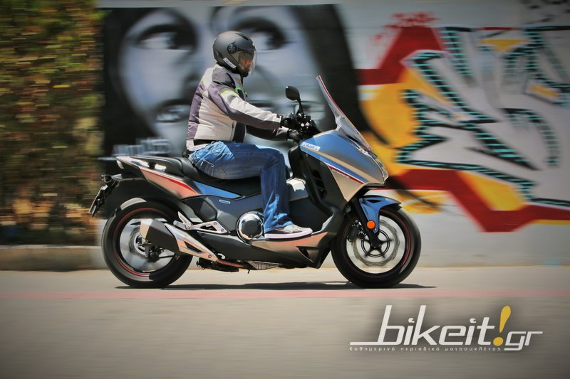Test - Honda NC 750D Integra S 2016