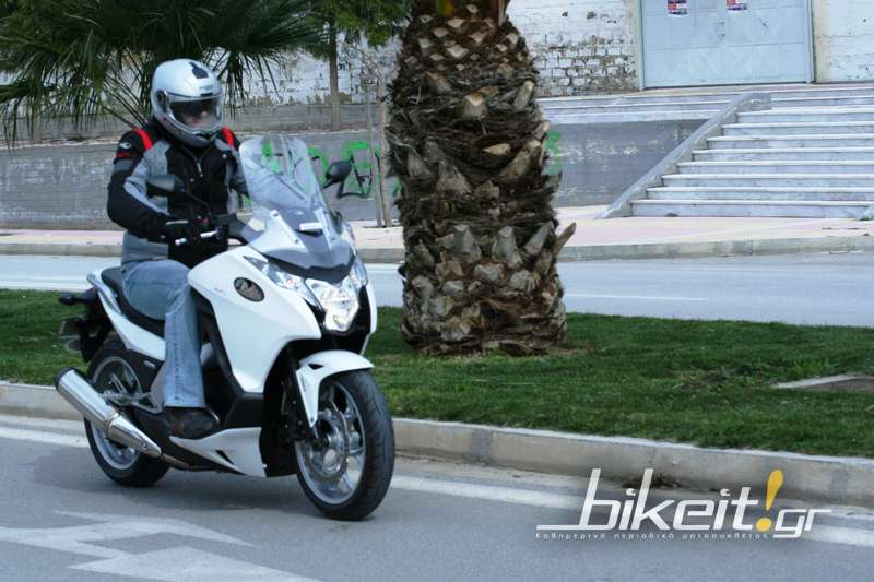 Test – Honda Integra 700 2012