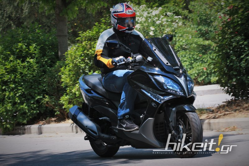 Test - Kymco X-Citing 400i ABS 2015