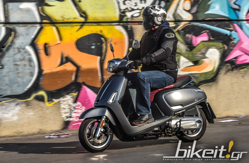 TEST – KYMCO Like II 125i CBS E4 (2018)