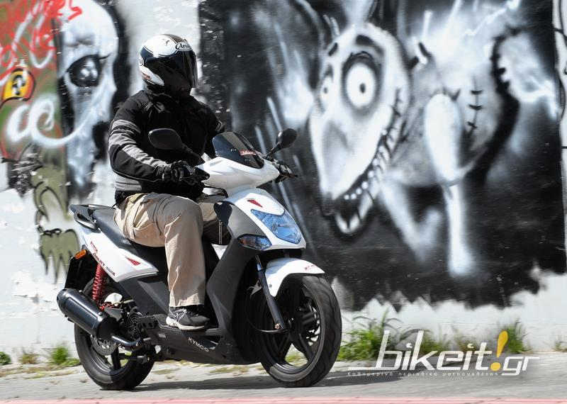 Test – Kymco Agility City 200i 2014