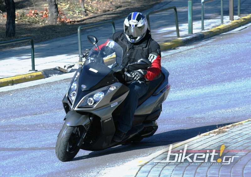 Test – Kymco Downtown 300i ABS - 2011