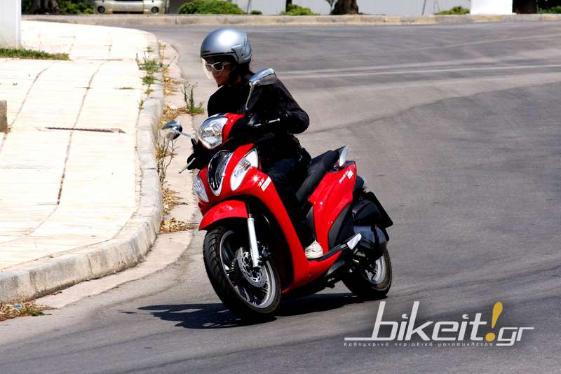 Test - Kymco People One 125i