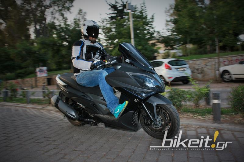 Test - Kymco XCiting 400i ABS 2014