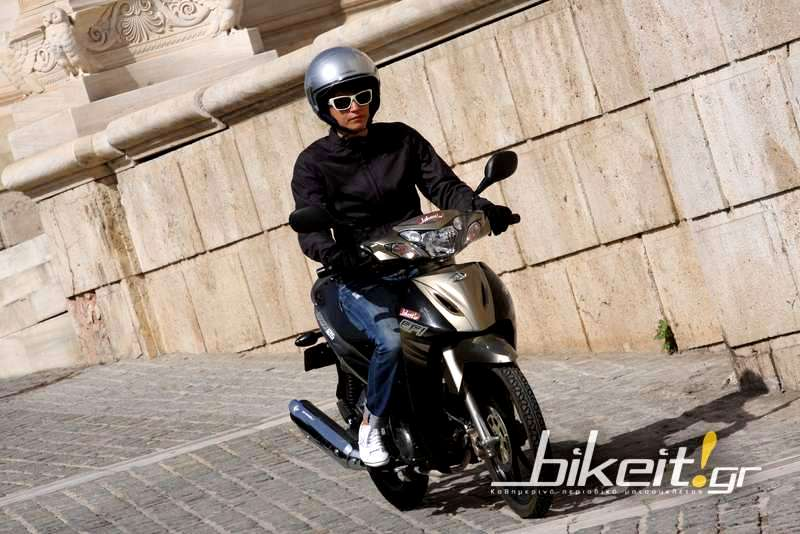 Test – Modenas Kriss 125 EFI
