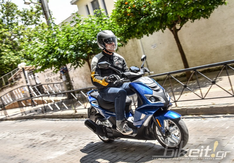 TEST – Peugeot Speedfight 4 125