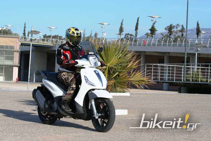 Test – Piaggio Beverly Sport Touring 350 - 2012