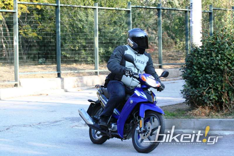 Test – Yamaha Crypton 110