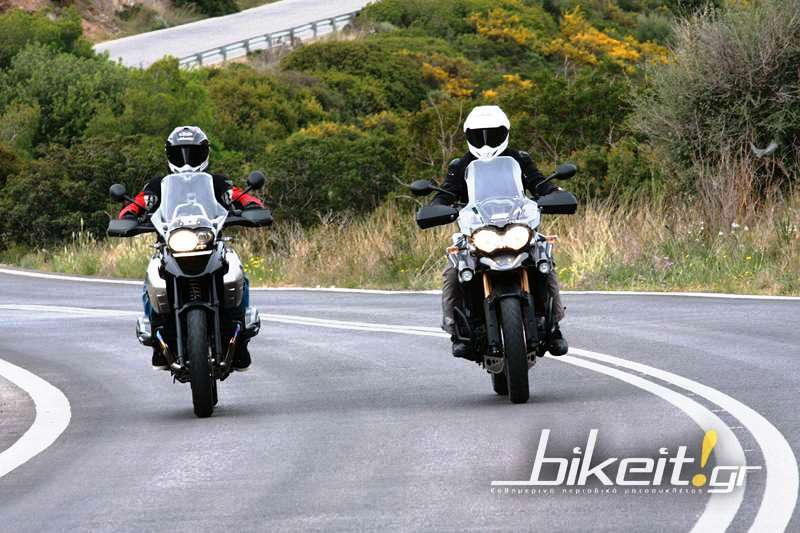 Συγκριτικό: BMW R 1200 GS vs Triumph Tiger Explorer 1200 - Video