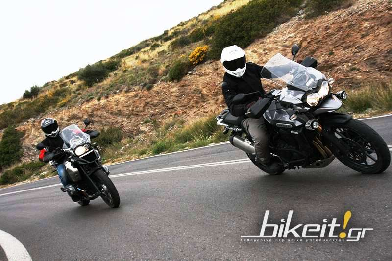 Συγκριτικό: BMW R 1200 GS vs Triumph Tiger Explorer 1200