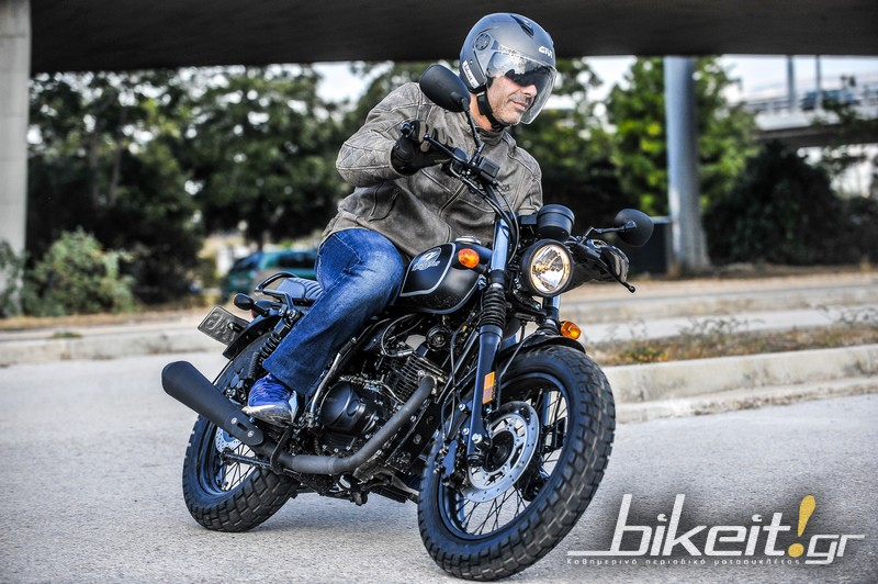 TEST – Daytona Rock 125i II