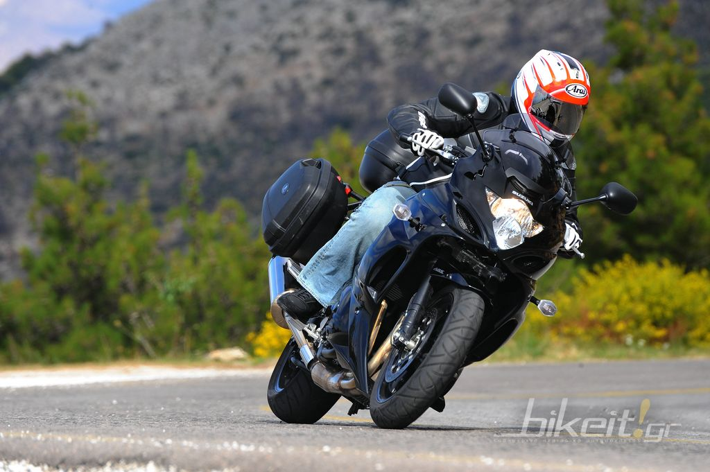 "Test Suzuki GSX 1250 FA Bandit ""Travel"""