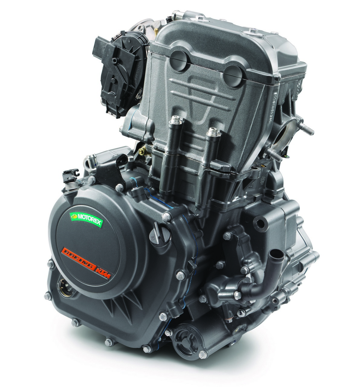 154826 KTM 390 DUKE Engine right front MY 2017