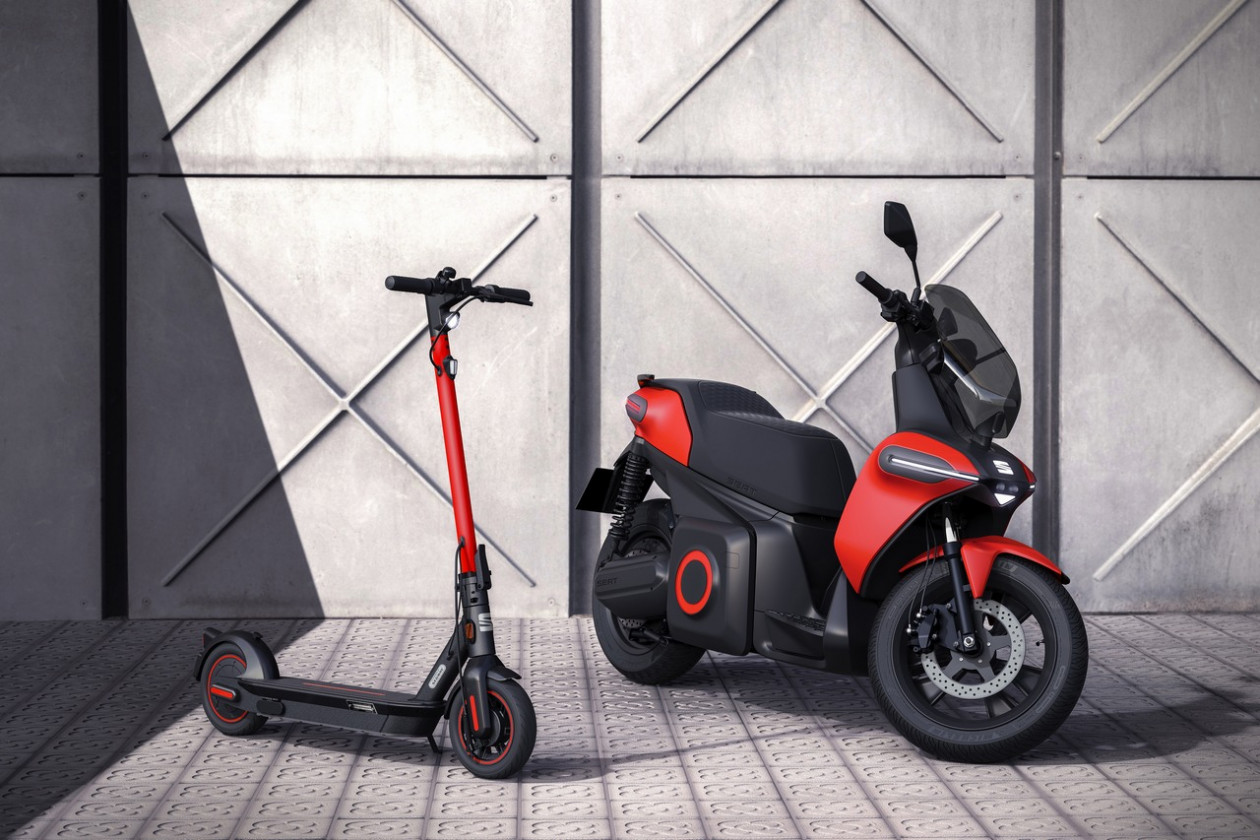 SEAT - Νέο τμήμα Urban Mobility με e-Scooter και ηλεκτρικό πατίνι