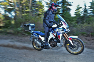 Test - Honda CRF 1100L Africa Twin Adventure Sports DVT 2020