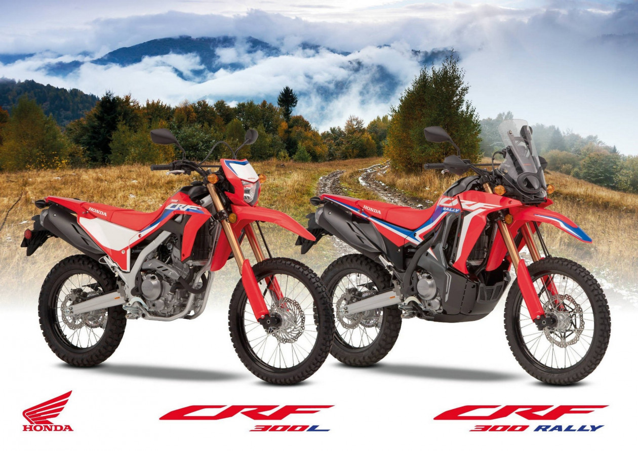 Honda CRF300L & CRF300 Rally 2021 - Σημαντκά αναβαθμισμένα