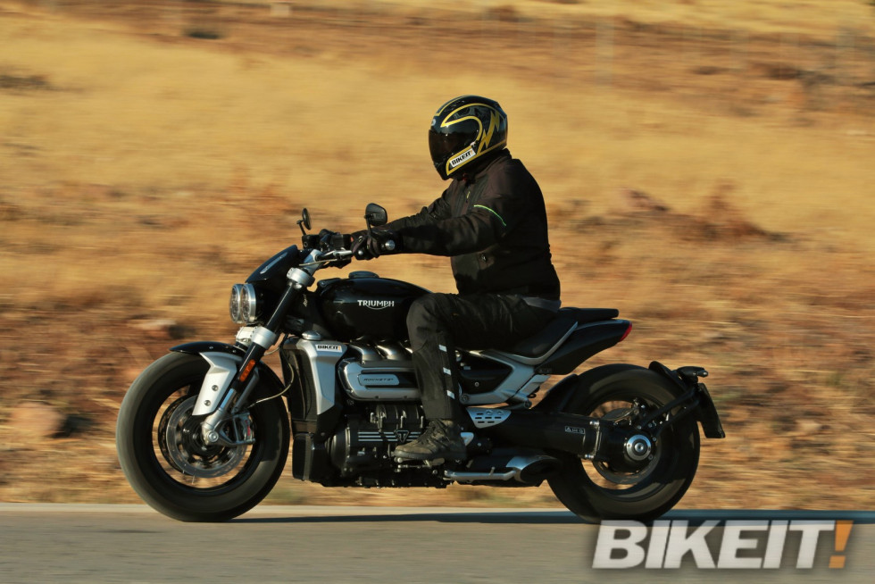 Test – Triumph Rocket 3 R 2020