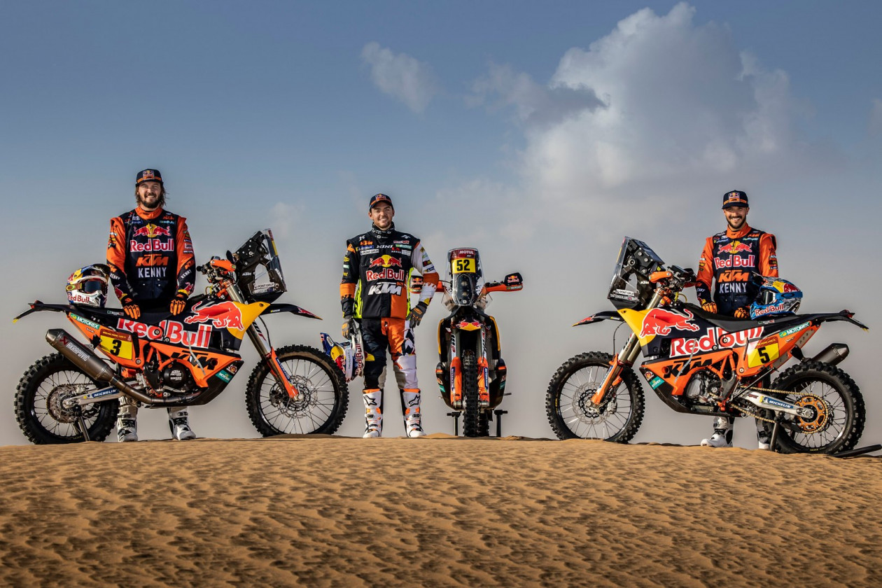 Red Bull KTM Factory Racing – Έτοιμοι για το Rally Dakar 2021