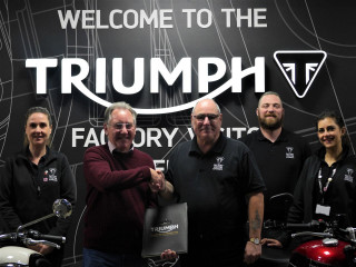 Triumph Factory Visitor Experience – 100,000 επισκέπτες σε 2 χρόνια!