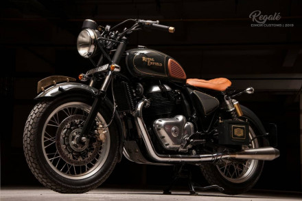 Royal Enfield Regalé Bobber – Ένα custom βασισμένο στο Interceptor 650