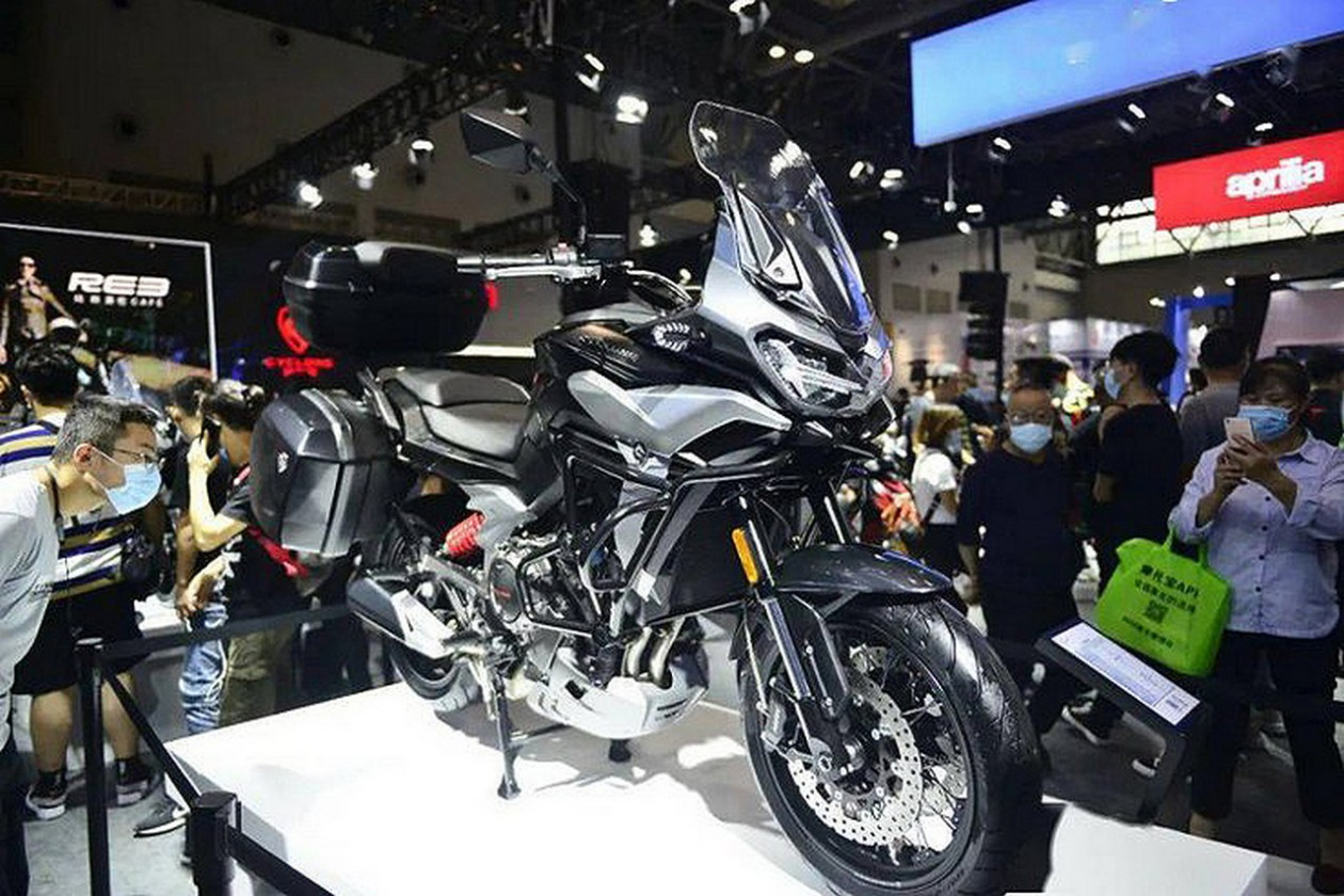 Zongshen SR 650 – Adventure bike με κινητήρα της Norton