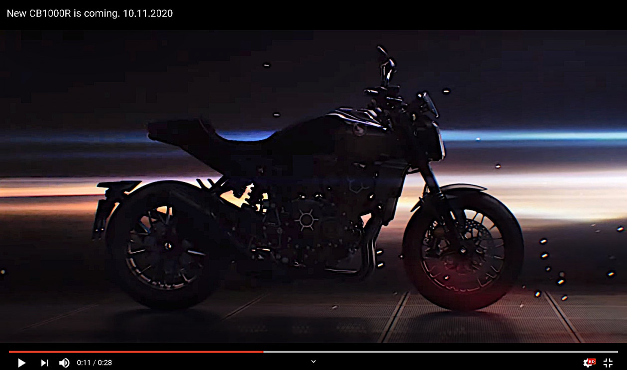 Honda CB1000R 2021 - Teaser Video