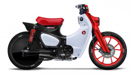 Honda Super Cub special by Greaser Garage