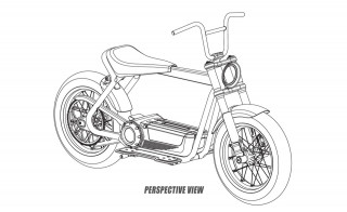 Harley-Davidson - Πατέντες του e-scooter project της